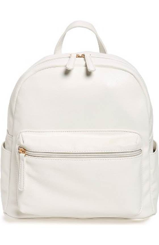 300a0fb3fd7e Free shipping and returns on BP. Faux Leather Mini Backpack at Nordstrom.com.  A cute little faux fur bag charm adds trend-right whimsy to this small-scale  ...