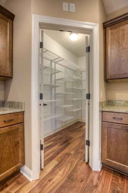 Large walk in pantry home pantry pinterest for Large walk in pantry