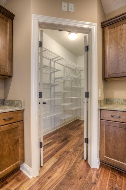 Large walk in pantry dunbar plan kendrick elevation for Large walk in pantry