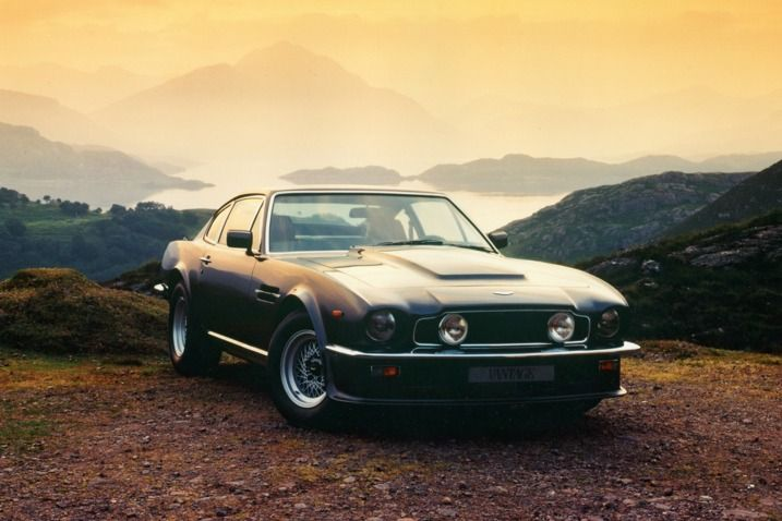 Such an awesome car! The 1977 Aston Martin V8 Vantage