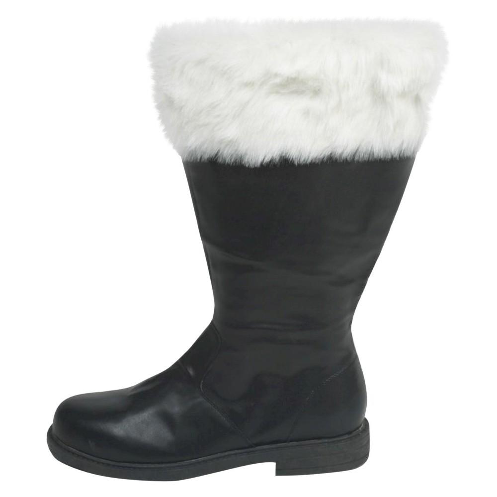 f5b2c6b6e396 Halloween Men s Santa Boots Black Large