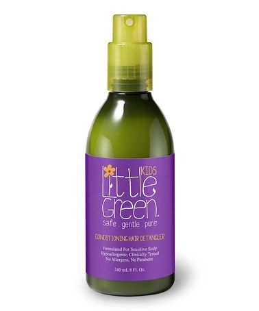 Take a look at this Conditioning Hair Detangler by Little Green on #zulily today!