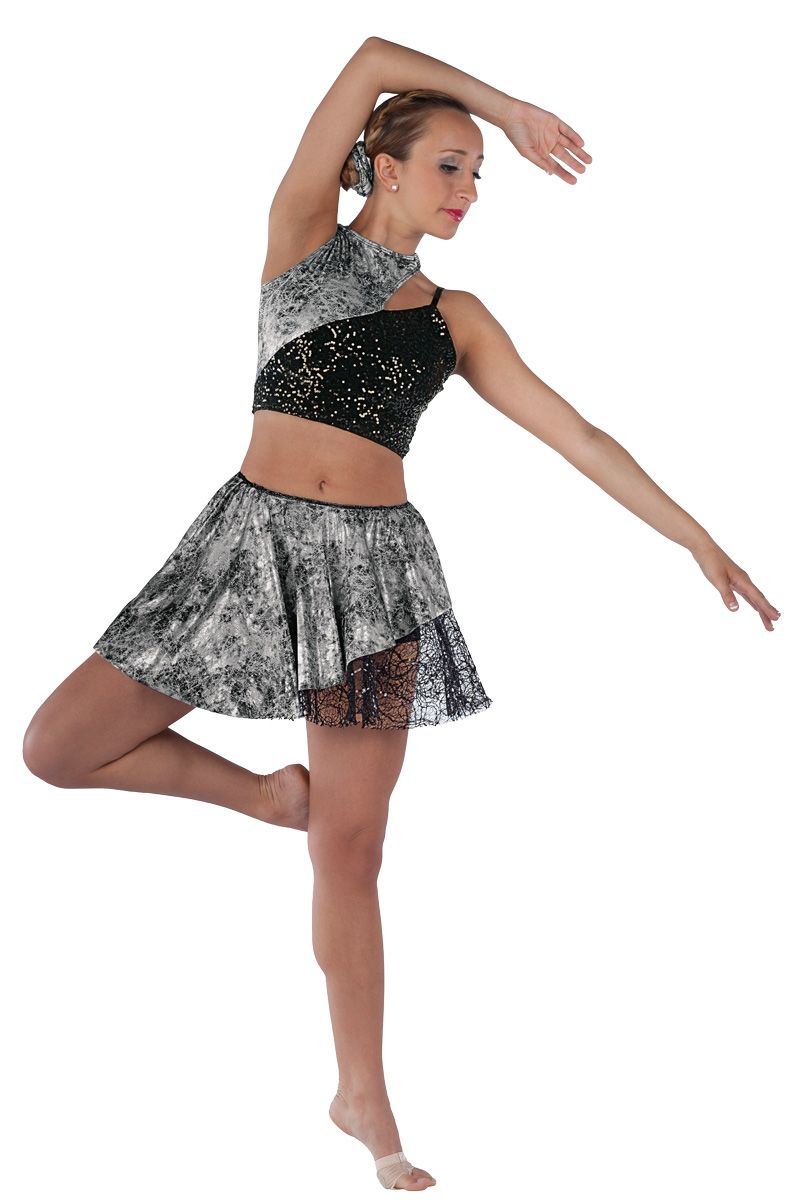 15517 Heart Of Glass | Lyrical Contemporary Dance Costumes