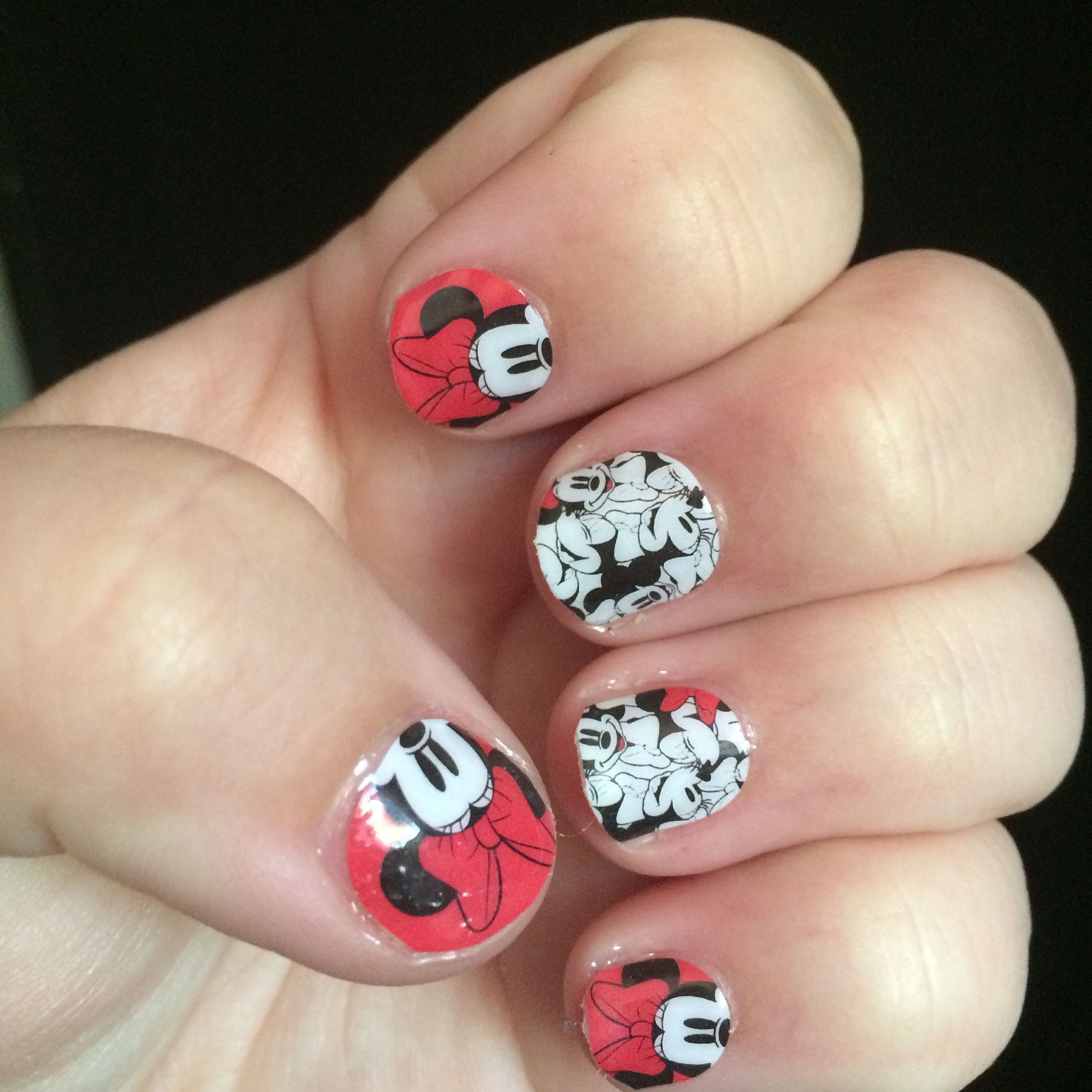 Disney collection by jamberry. Bowdacious.
