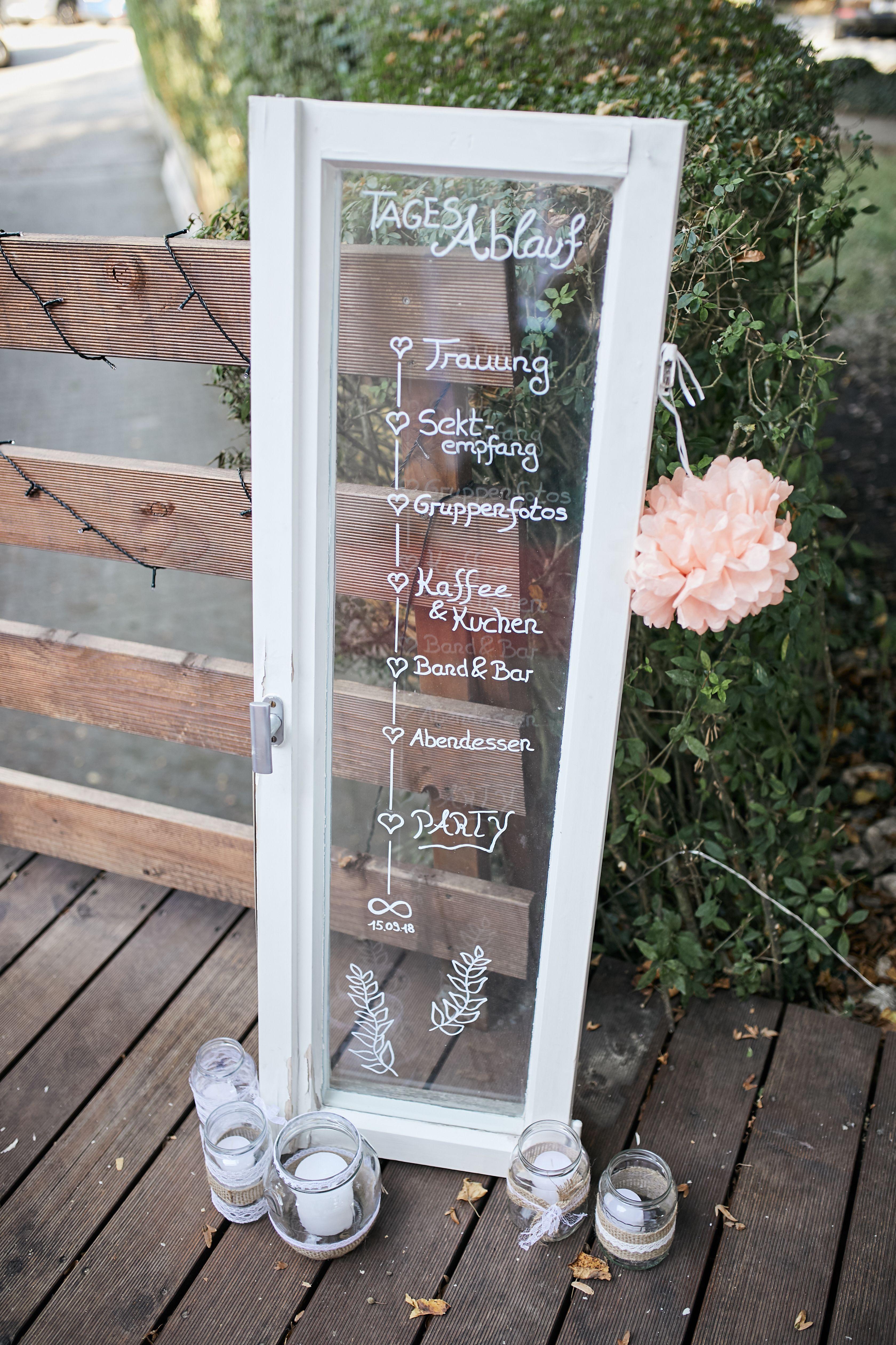 Tagesablauf Hochzeit Fenster Vintage In 2020 Tagesablauf Hochzeit Hochzeitsfenster Hochzeit Ablauf