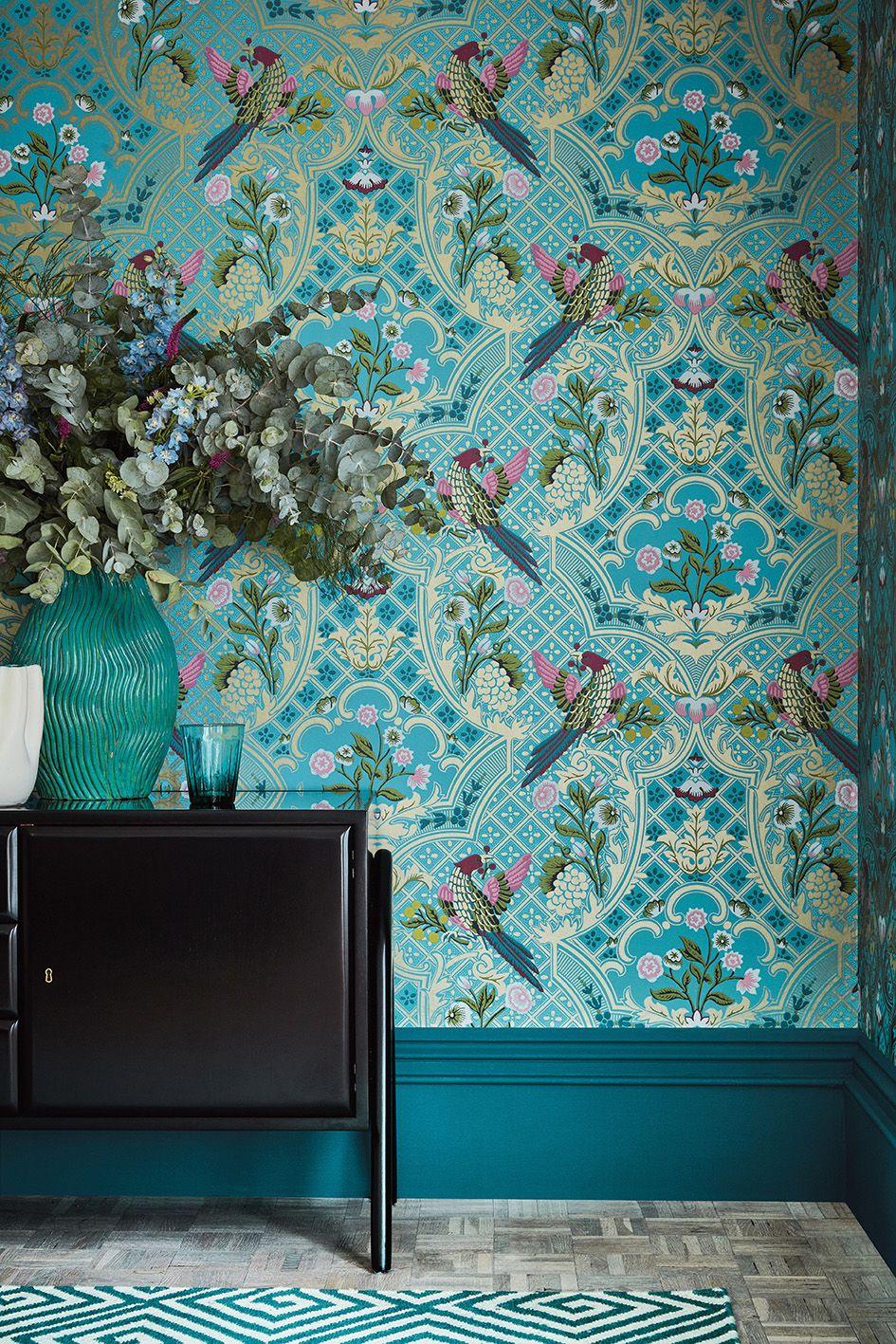 Brodsworth Empress in 2020 Bird wallpaper bedroom