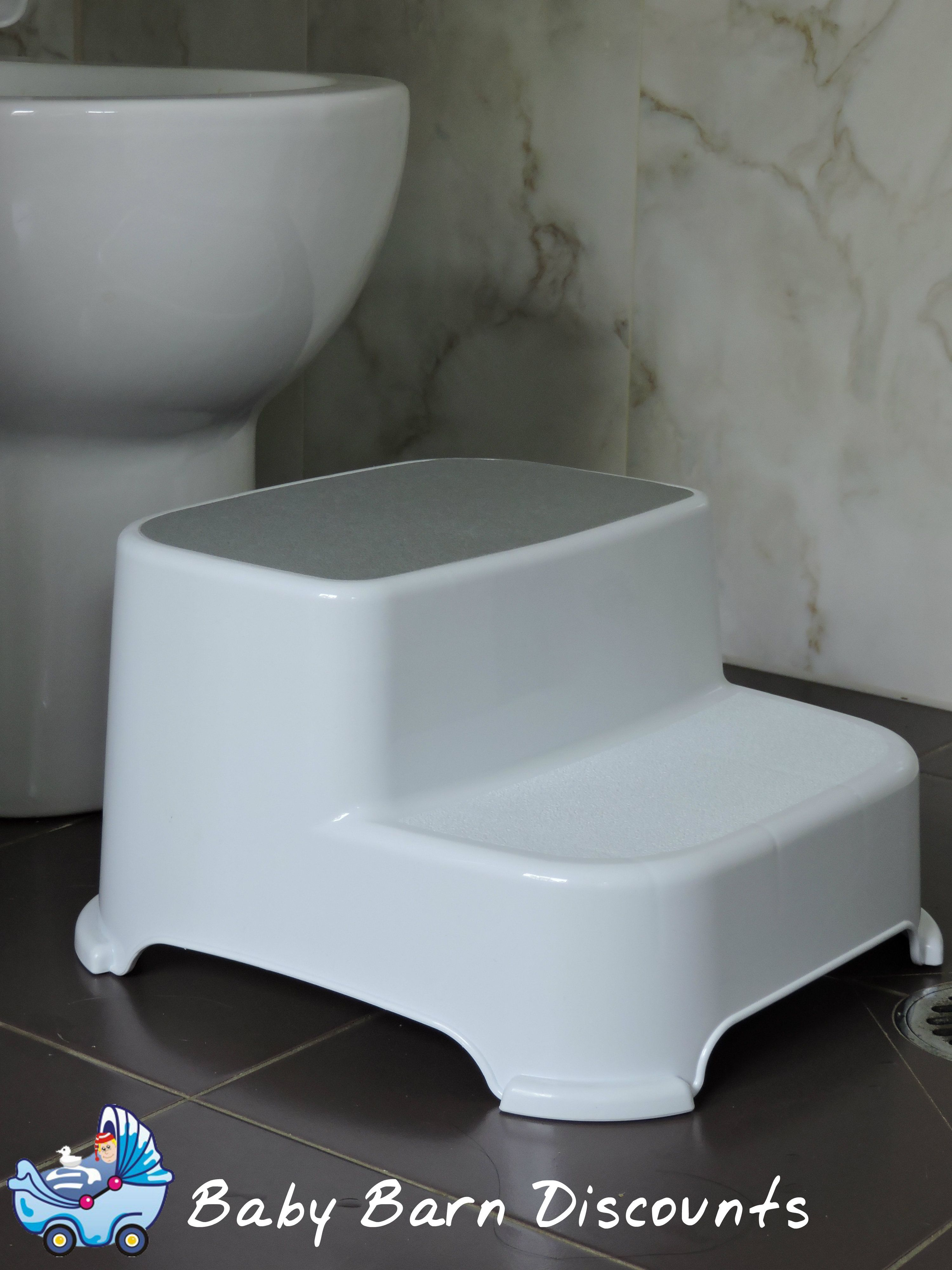 Roger Armstrong double step stool. Secure step stool with two steps ...