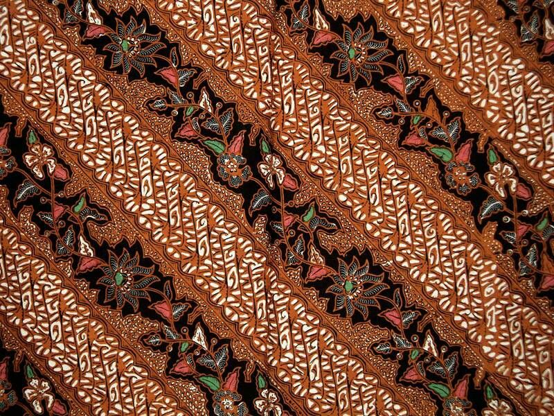 Motif Batik Parang Kusuma - Batik Indonesia