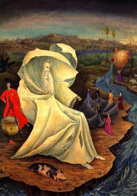 Desde el Renacimiento hasta nuestros días: Remedios Varo.(1913-1963)