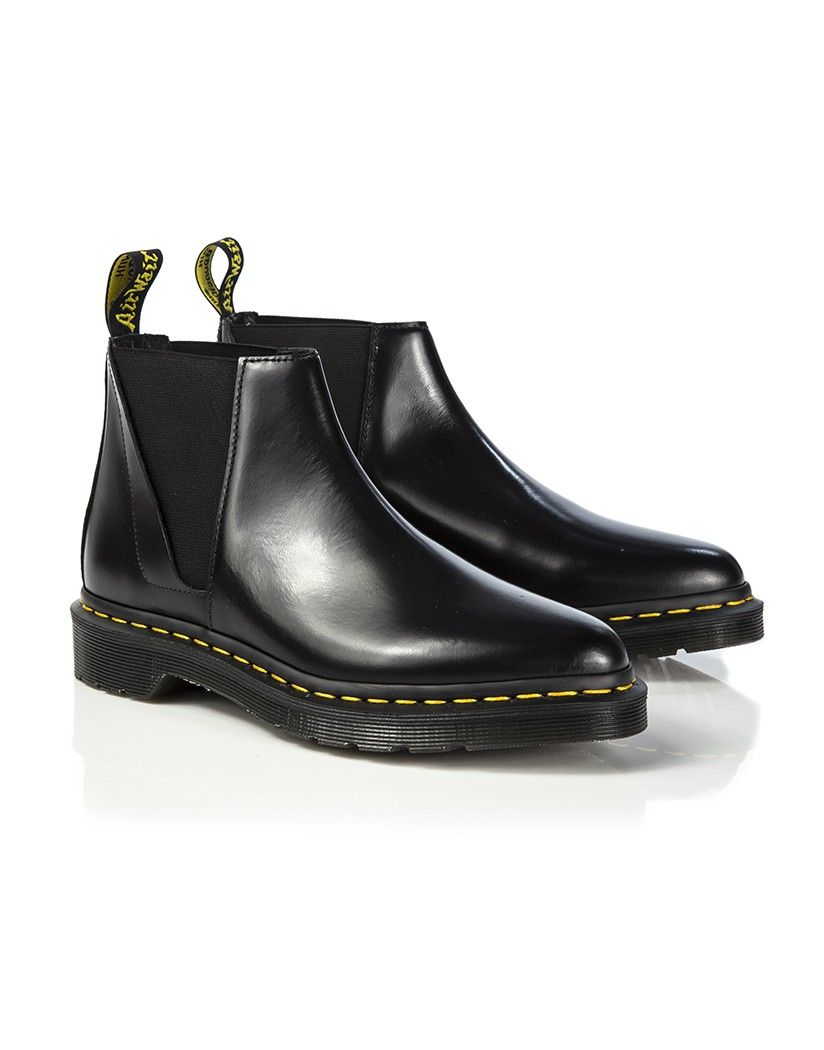 Dr Martens Women s Bianca Low Shaft Zip Chelsea Boots - Black Polished  Smooth More 9ded75e7a