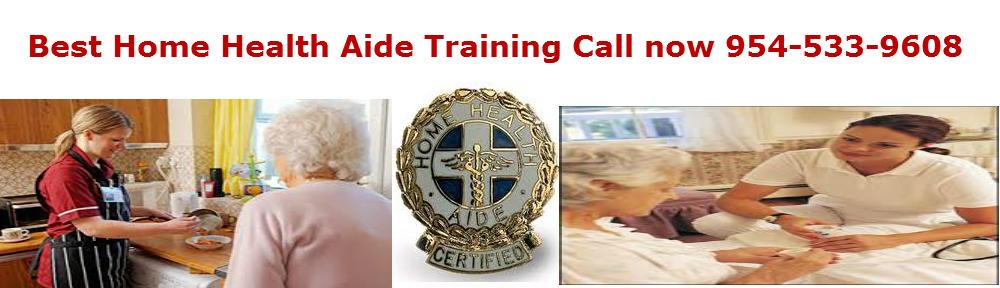 Home health aide training Fort Lauderdale Sunrise