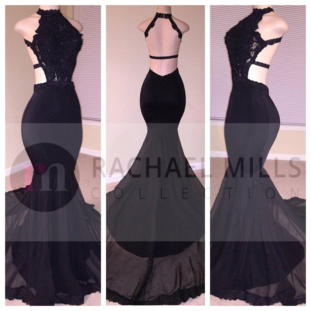 Adriannaud black double rm vestidos in pinterest prom