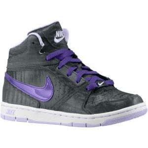 Discount Nike Prestige IV High Met Anthracite Violet Frost White Electro Purple Basketball Shoes for Women Sale Online