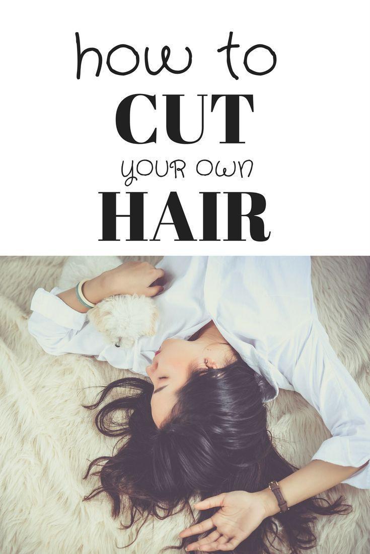 How To Cut Hair At Home Diy Haircut Diy Hair Care Easy Hairstyles