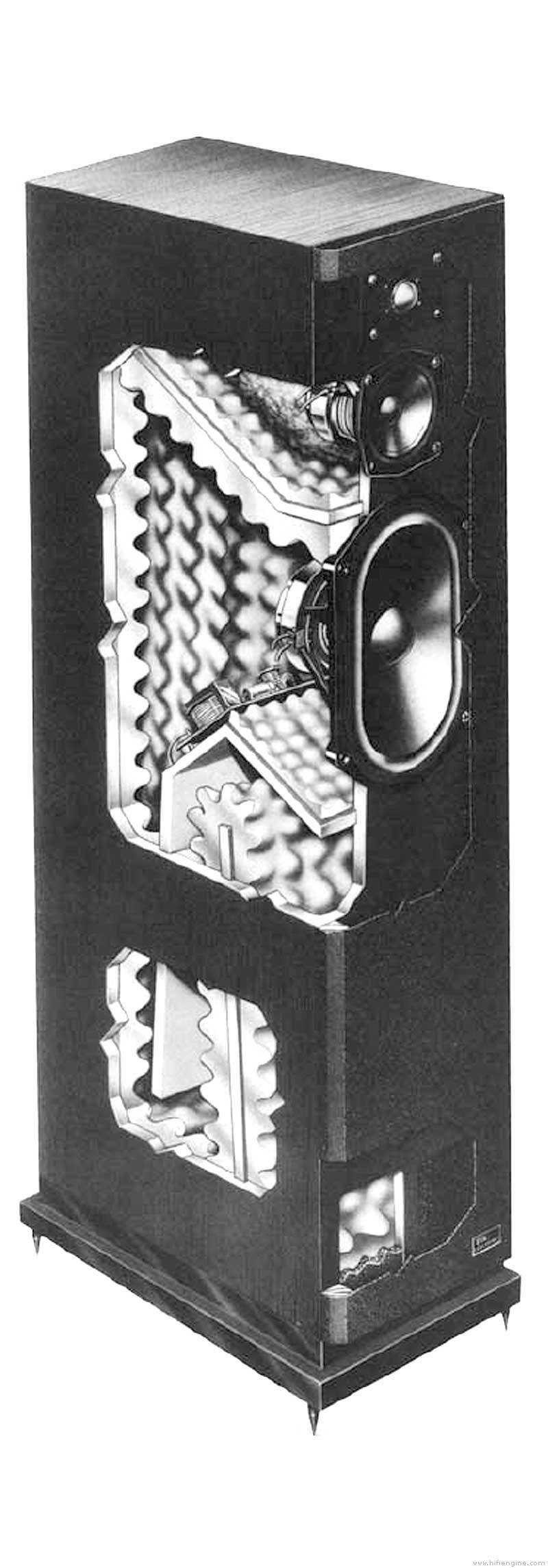 Tdl Electronics Studio 4 Manual Transmission Line Loudspeaker System Hifi Engine