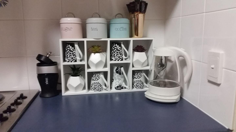 Kmart tea and coffee storage   Coffee storage, Diy coffee station ...