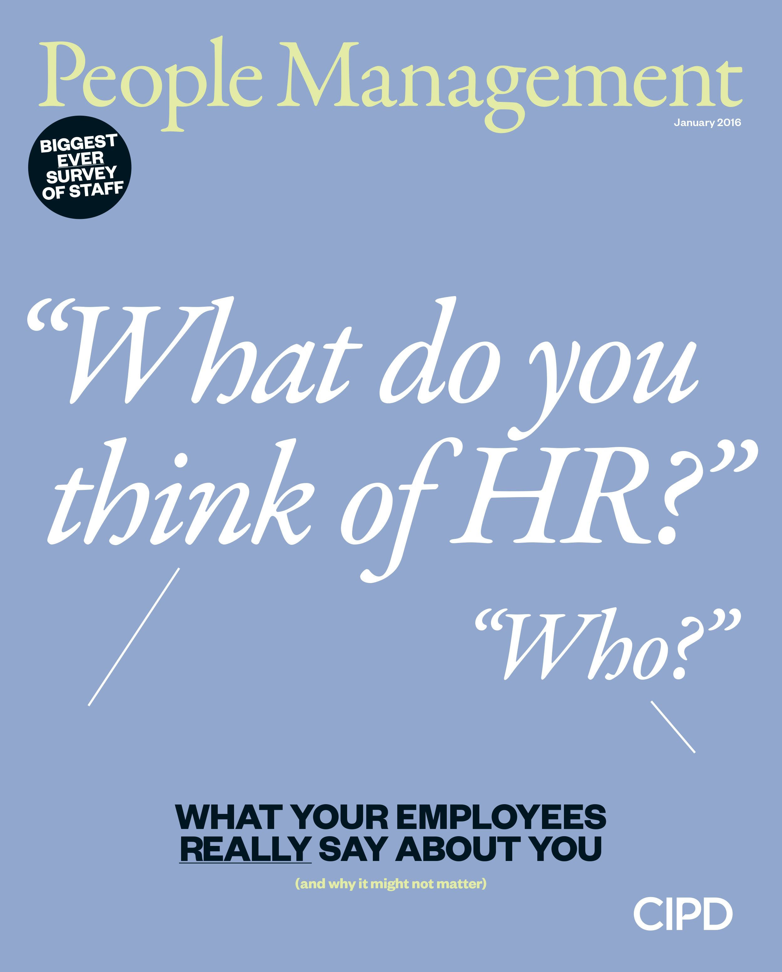 What Do You Think Of Hr Who People Management Magazine Covers
