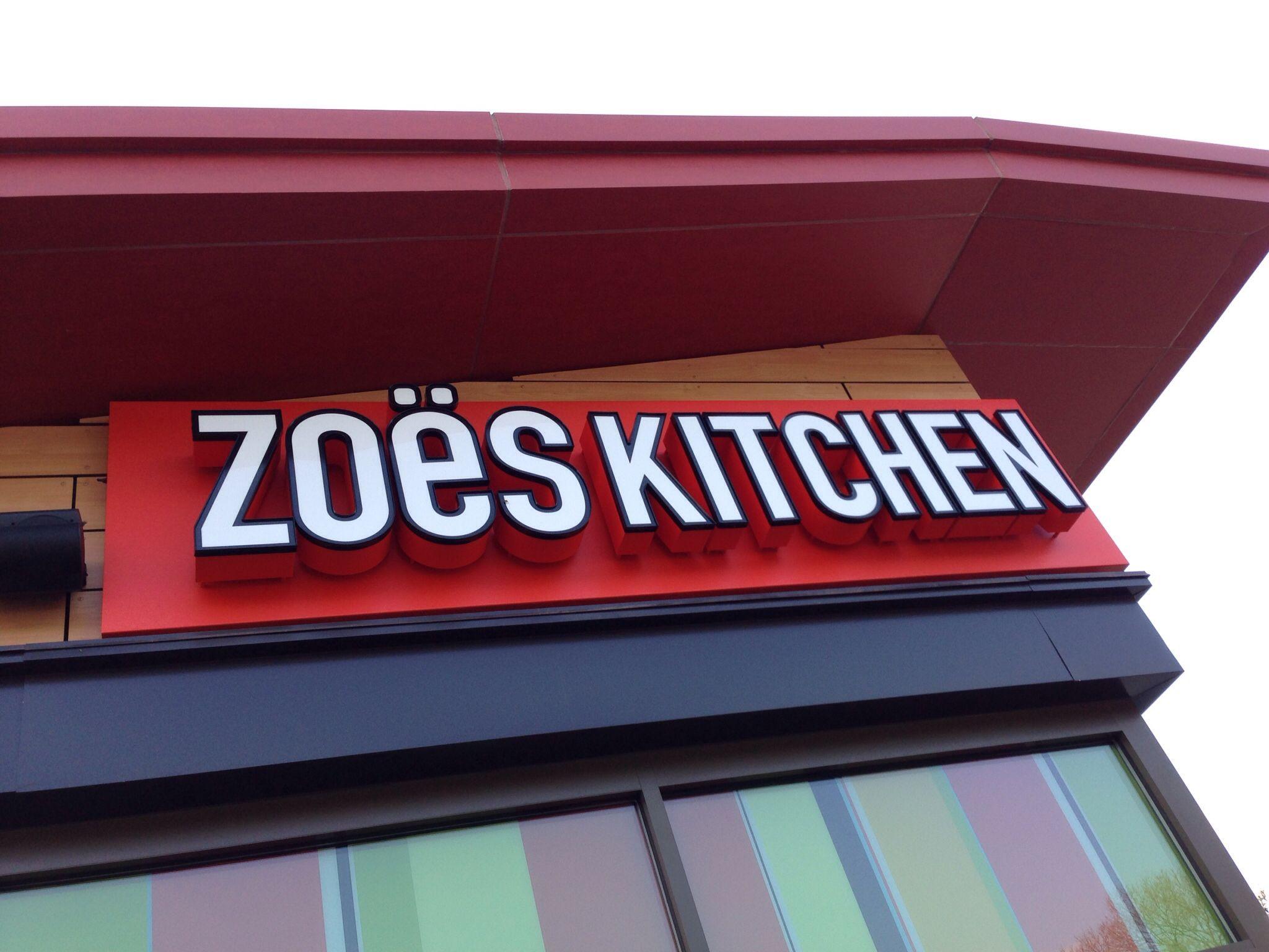 Zoes Kitchen Sign Zoes Kitchen  Blacksburg Va  Retail Signs  Pinterest  Zoes Kitchen