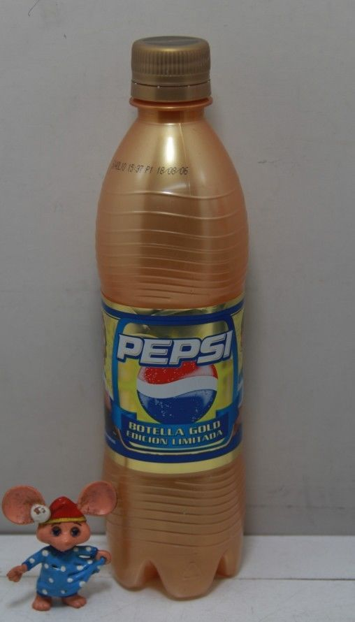 Pepsi Plastic Bottle Gold Messi Crespo 500ml Made in Argentina Limited Edition | eBay
