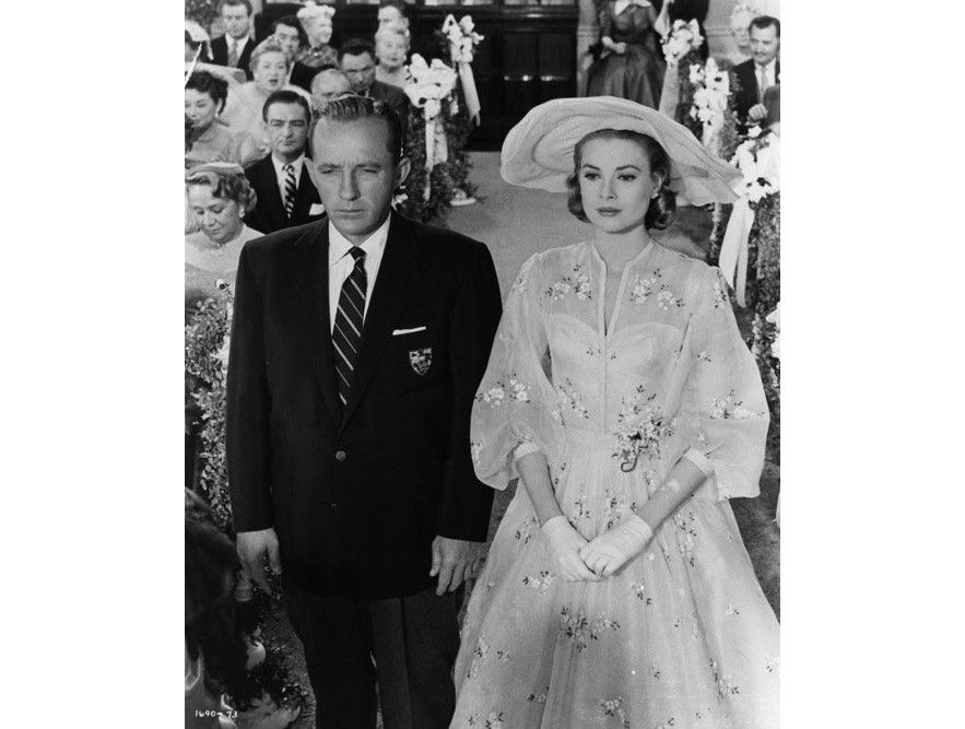 Grace Kelly et Bing Crosby dans le film Haute Societe de Charles Walters en 1956