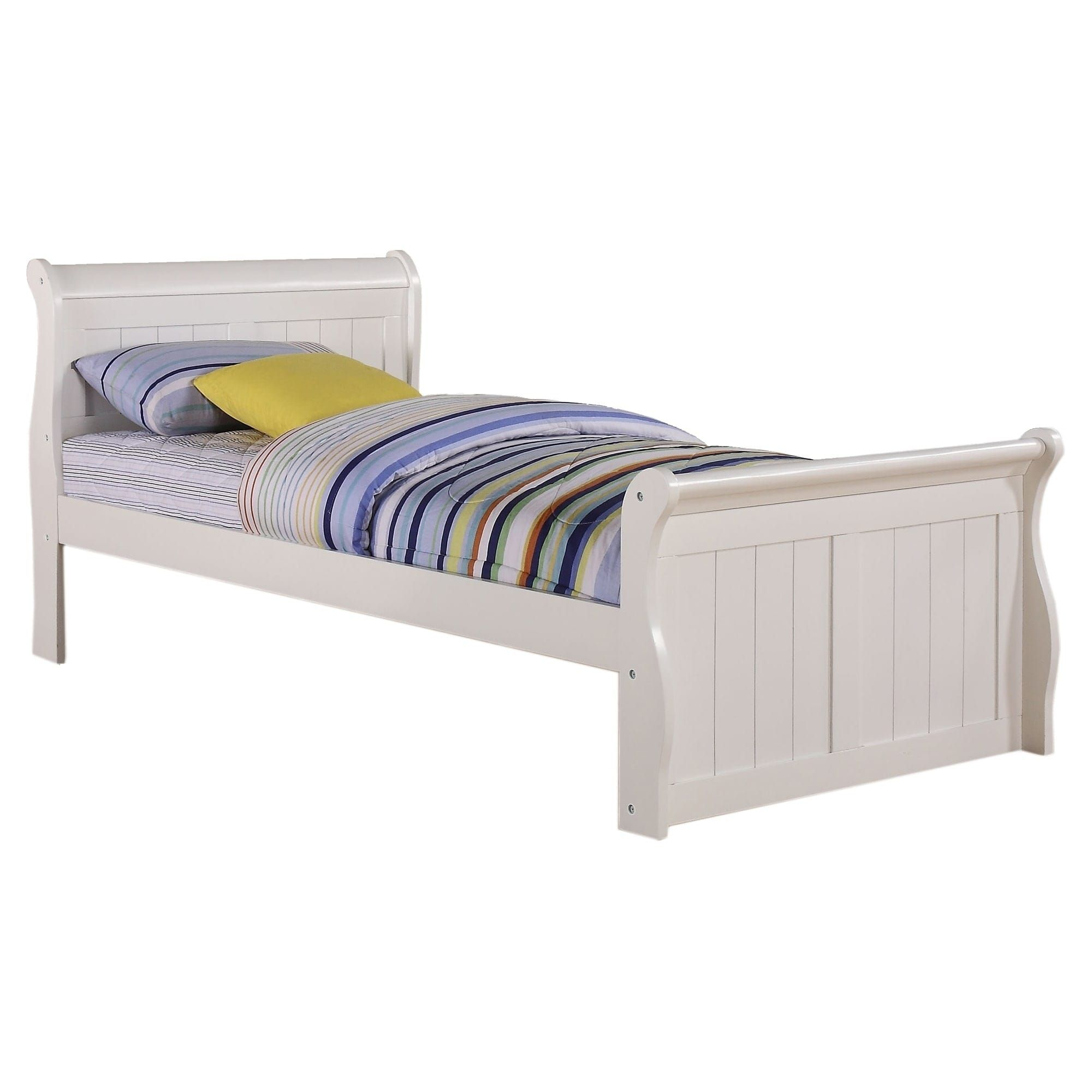 donco kids white sleigh bed twin white sleigh bed outlet store