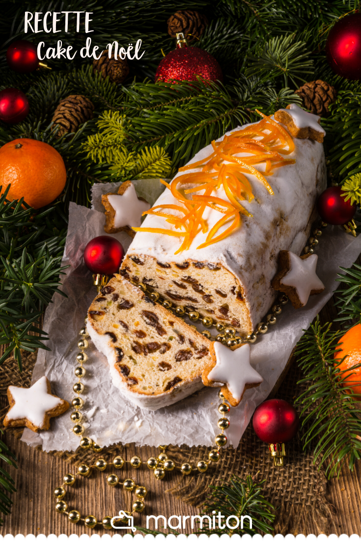Cake De Noel Aux Epices Recipe In 2019 Christmas Deserts Easy Christmas Cookie Recipes Christmas Cookies