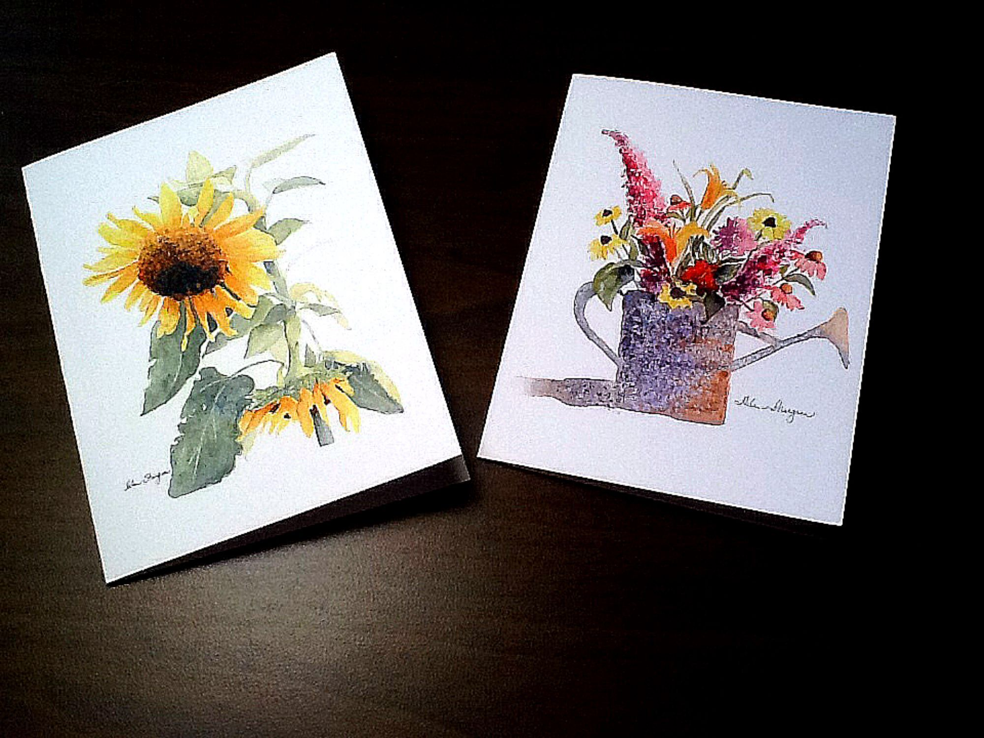 Notecards available for purchase. Watercolorbyhelen@gmail.com