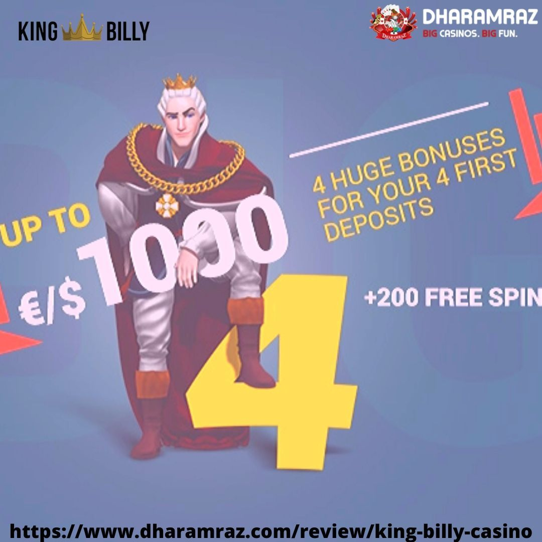 King billy 31 free spins slots