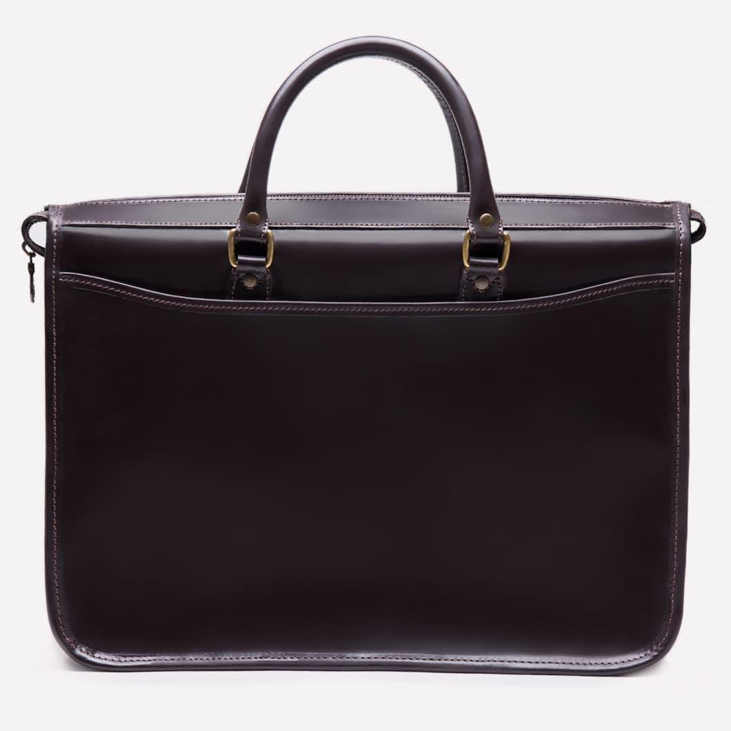 Ettinger London - Luxury Leather Goods -  Heritage Havana Mayfair Briefcase