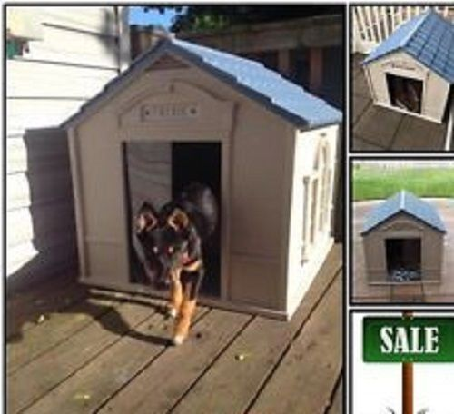 Dog House Xl For Large Dogs Big Outdoor Pet Houses Shelter Kennel
