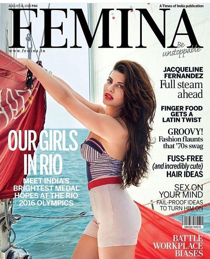 Too Hot!! @jacquelinef143 sizzles on the cover of #femina magazine's August edition. #bollywoodactress #bollywoodfashion #bollywoodstyle #fashion #stylefile #stylemantra #jacquelinefernandez #jacquelinefernandezforever #jacquelinefernandes #followfortags #tagsforlikes #likesforfollow #followfortags #likesforfollow #followforlike #gurgaon #mumbai #delhi #kolkata #surat #instapic #instacool #instablogger #fashionblogger