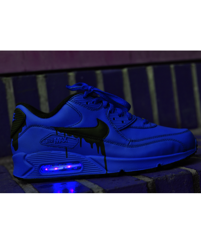 best service b7a81 e15b9 Nike Air Max 90 Candy Goutte Oxford Bleu