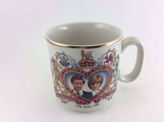 Prince Charles and Lady Diana wedding mug