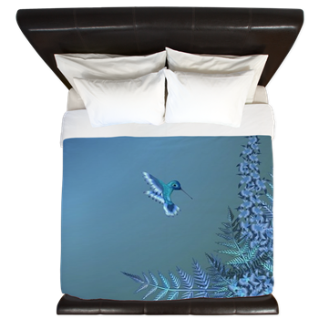 The duvet is from our Iridescent Instant Collection and includes ...