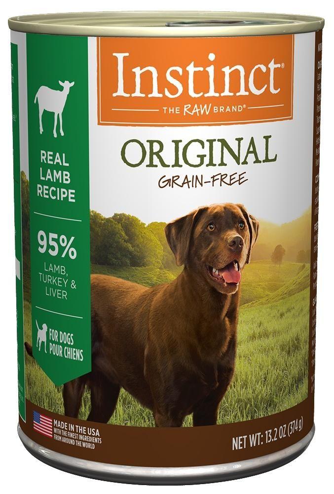 Nature S Variety Instinct Grain Free Lamb Formula Canned Dog Food