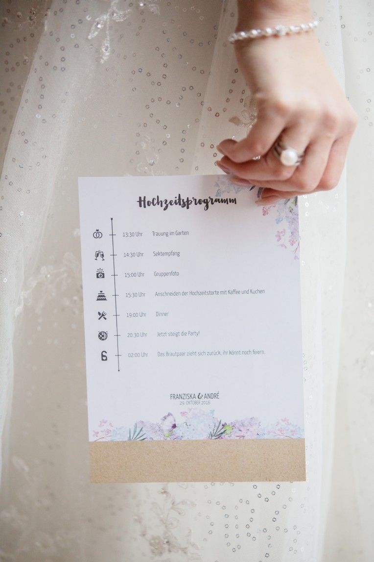 Niedlich Einzigartige Hochzeitsprogramme Vorlagen Bilder - Entry ...