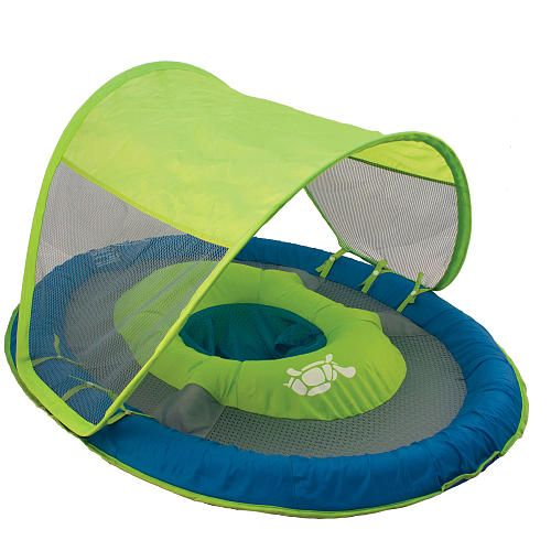 Swimways Baby Spring Float with Canopy - ours was a different color and had little ducks  sc 1 st  Pinterest & Swimways Baby Spring Float with Canopy - ours was a different ...