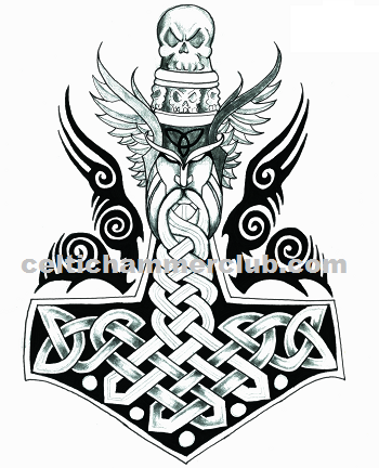 Celtic Hammer Club Blog Celtic Norse Art Viking Symbols Viking Tattoo Symbol Mjolnir Tattoo