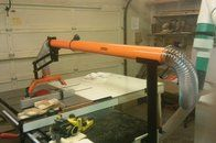 Review Exaktor Exoa 2 Table Saw Overarm Dust Collector By Padre Lumberjocks