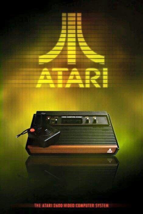 Gamer Atari Retro Video Games Vintage Video Games Vintage Games
