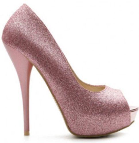 Light pink sparkly heels  Heels  Pinterest  Pink Sparkly heels