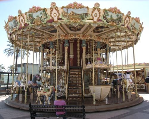 Carousel in Feungirola, Andalucia, Spain  (via Carousel in Feungirola TrekEarth)