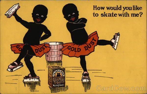 Fairbanks Gold Dust Twins Washing Powder Advertising
