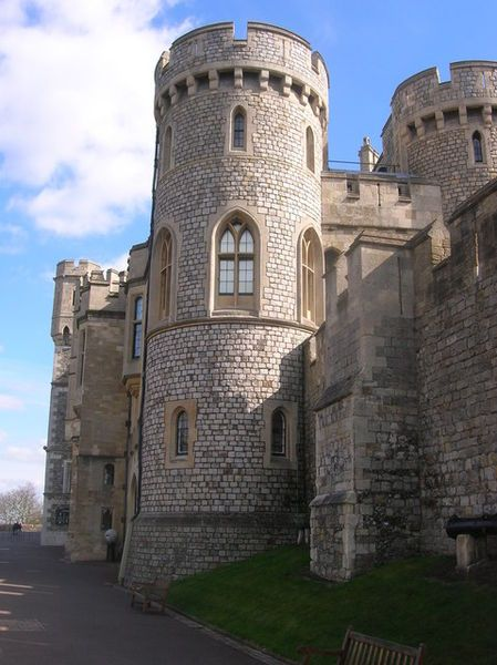 State Apartments Windsor Castle England