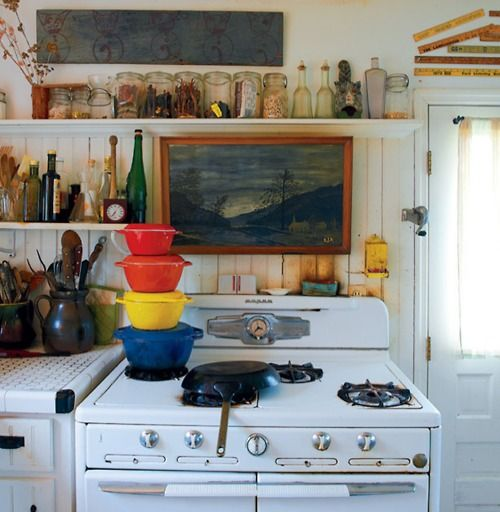 Messy Kitchen Trend: Bohemian Kitchen, Interior Design