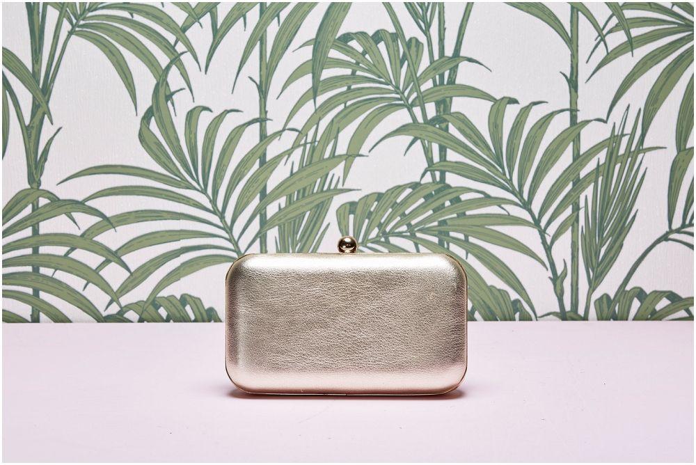 f5ed71fa28c7 Coco Gold clutch bag - Rachel Simpson