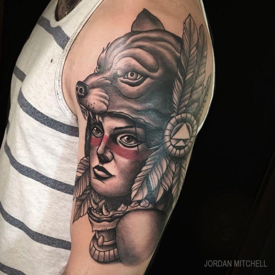 Golden Age Tattoo Golden Age Tattoo Native American Tattoo Tattoos