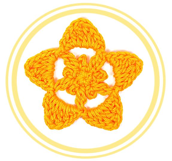 #Estrella 5 de #Crochet   #PatronesValhalla