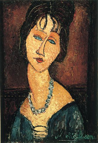 Have been looking at Modigliani