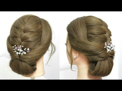 Youtube Hairstyles Easy Everyday Hairstylesimple Party Updo For Long Hair Tutorial